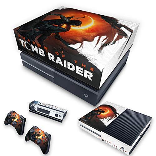 Capa Anti Poeira e Skin para Xbox One Fat - Shadow Of The Tomb Raider