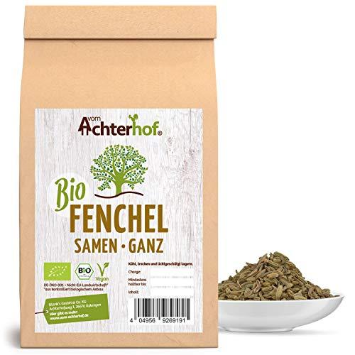 Fenchelsamen BIO süß ganz (1kg) | Fenchel Samen | Fencheltee | als Gewürz oder Fenchel Anis Kümmel Tee