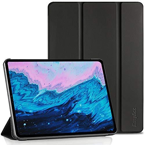EasyAcc Hülle Kompatibel mit iPad Air 4 Generation/iPad 10.9 2020 - Ultra Dünn mit Standfunktion Slim PU Leder Smart Schutzhülle Passt Kompatibel mit iPad Air 4/ iPad 10.9, Schwarz