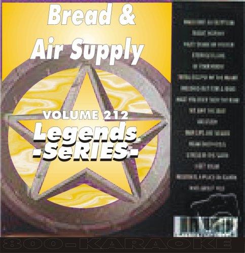 Air Supply & Bread 17 Songs Karaoke CD+G Legends #212