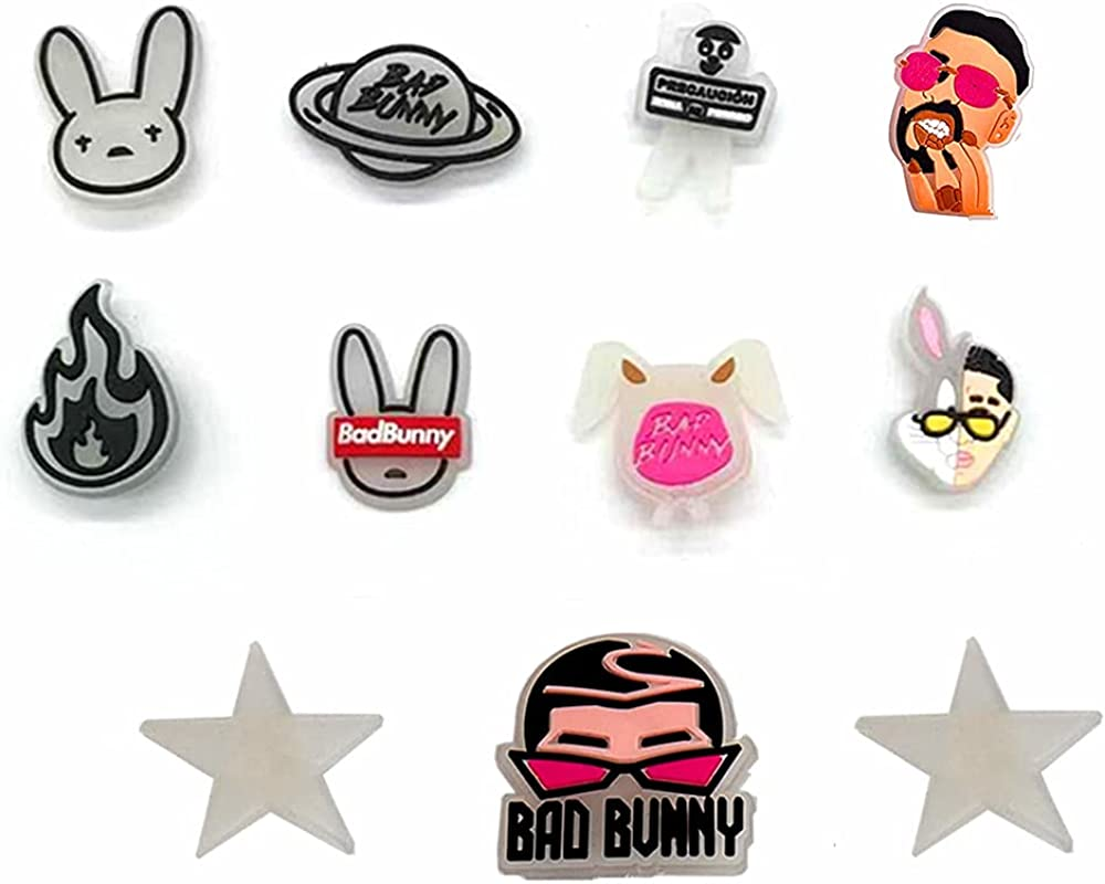 11Pcs Bad Bunny High order Shoes Gifts Max 85% OFF Accessories Charm