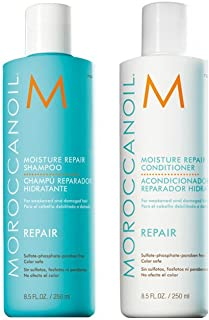 Moroccanoil Moisture Repair 250ml Shampoo & 250ml