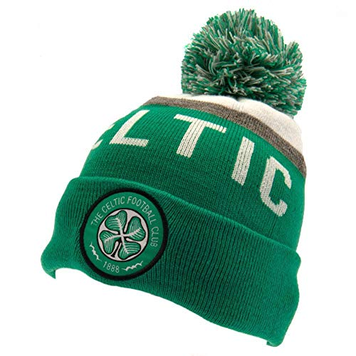 Celtic FC Winter Hat (One Size) (Green/White)