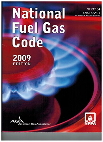 2009 NFPA 54: National Fuel Gas Code (2009 Paperback Edition) by AGA/NFPA by NFPA (2009-05-04)