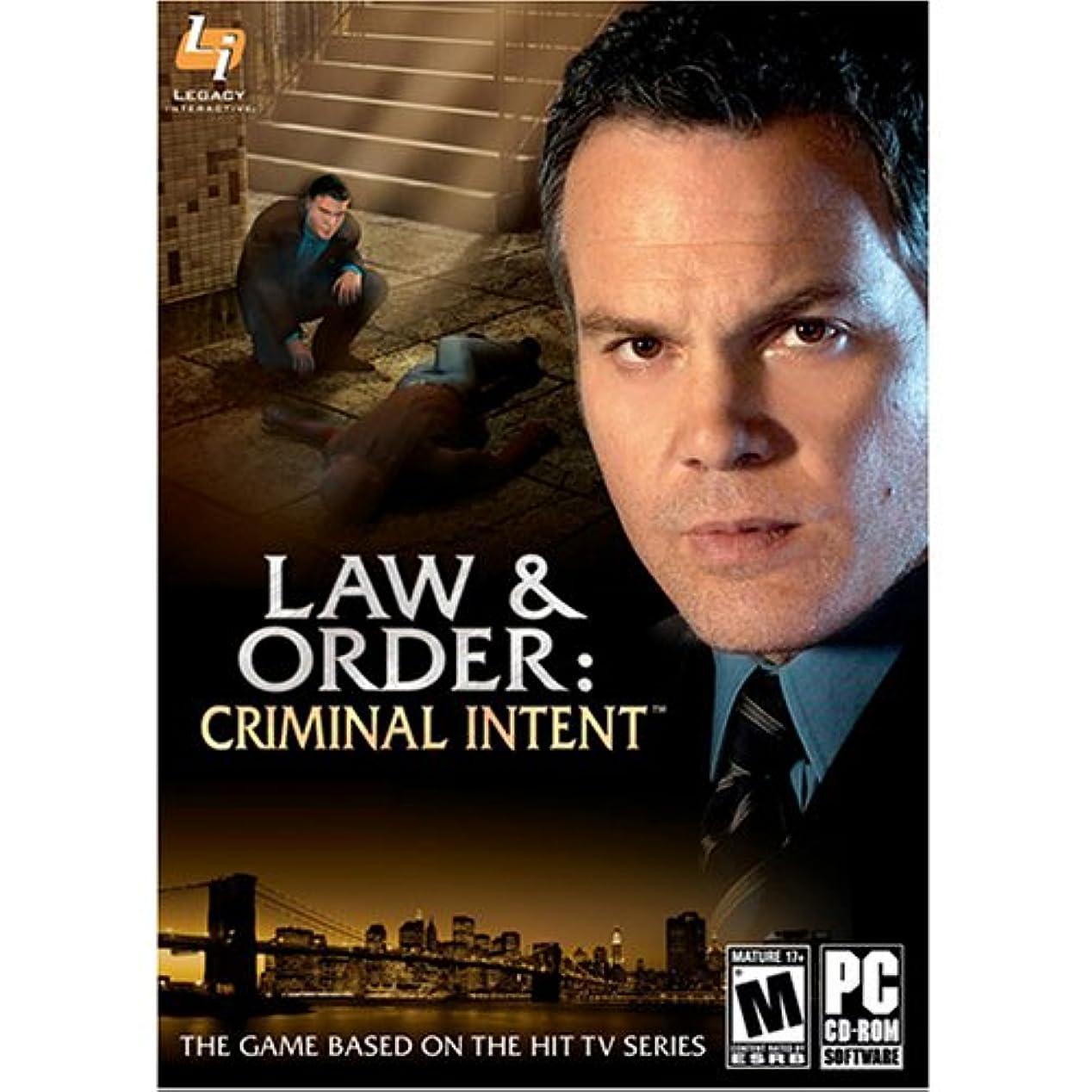 アロング優雅な与えるLaw & Order: Criminal Intent (輸入版)