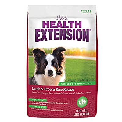 Health Extension Lamb and Brown Rice Dry Dog Food Recipe