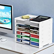 Office Storage Boxs A4 papieren dossier Holder Multi-layer Diversen Storage Box Bedside Organizer Desktop Storage Holder O...