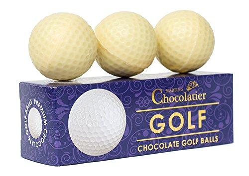 Schokoladen Golfbälle - 3 Golfbälle pro Packung (110 g )