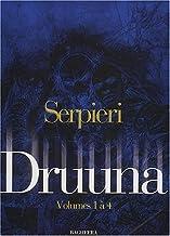 Serpieri Coffret volumes 1 à 4 : Tome 1, Morbus Gravis ; Tome 2, Druuna ; Tome 3, Creatura ; Tome 4, Carnivora