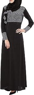 Arabeska Abaya For Women - X-Large, Black, Arb-8