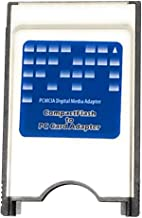 Digigear Compact Flash CF to PCMCIA PC Memory Card Adapter Reader ( ATA Flash/UDMA )