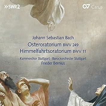 Johann Sebastian Bach: Osteroratorium BWV 249 & Himmelfahrtsoratorium BWV 11