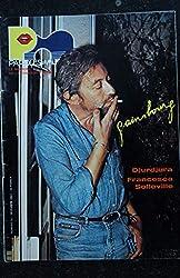 Paroles & Musique 1983 12 n° 35 Serge GAINSBOURG - Djurdjura - Francesca Solleville - 44 pages