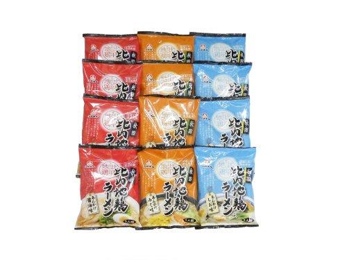 乾燥・比内地鶏あんかけラーメン12袋(12食分、1人前×12)セット(S)【他メーカー商品と同梱不可】