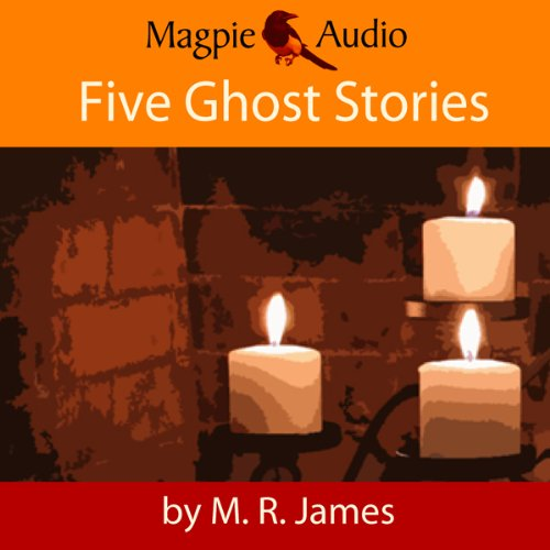 M. R. James: Five Ghost Stories audiobook cover art
