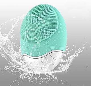 comprar comparacion DryMartine Limpiador Facial y Masajeador,Silicona Orgánica Recargable Waterproof Masaje Facial, Anti-Aging Limpiador de Pi...