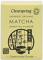 Clearspring Organic Japanese Matcha Green Tea Powder Ceremonial Grade 30 g