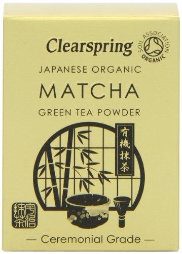 Clearspring - Japanese Organic Matcha Green Tea Powder - Ceremonial Grade - 30g