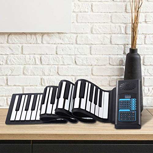 88 Keys Roll Up Digital Piano,Portable Electronic Keyboard Hand Roll with...
