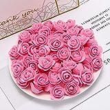 XINGXX Fleur Artificielle 50 pcs Pas Cher PE Mini Fleurs Artificielles pour La Maison...