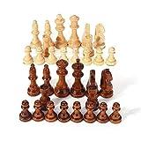 Cxcdxd Juego de Mesa de ajedrez 32 Piezas Juego de Piezas de...