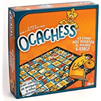 Ocachess - Juego de Mesa para Aprender AJEDREZ, Novedad La Forma más Divertida de Aprender ajedrez.