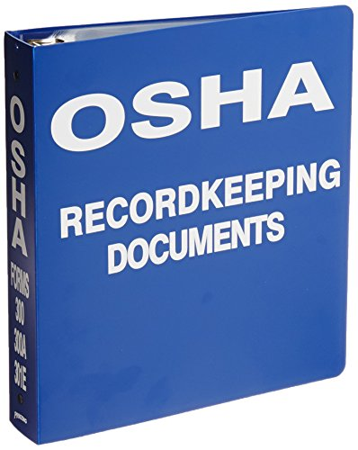 Brady OR323E Binder, OSHA Record Keeping Documents