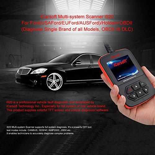Valise de diagnostique OBD2 Ford – Holden – ICARSOFT I920