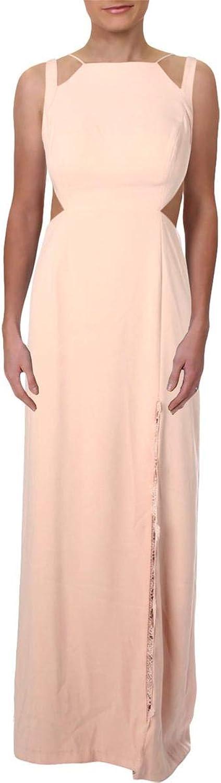 Aidan Mattox Aidan Womens Open Back FullLength Formal Dress