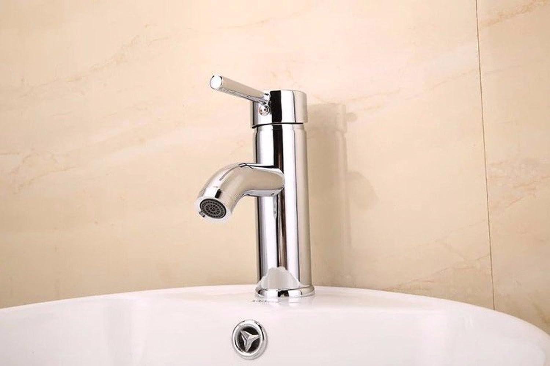 SHLONG Basin Faucet hot and Cold Single Hole Basin Basin Faucet Copper Alloy hot and Cold Water Mixer