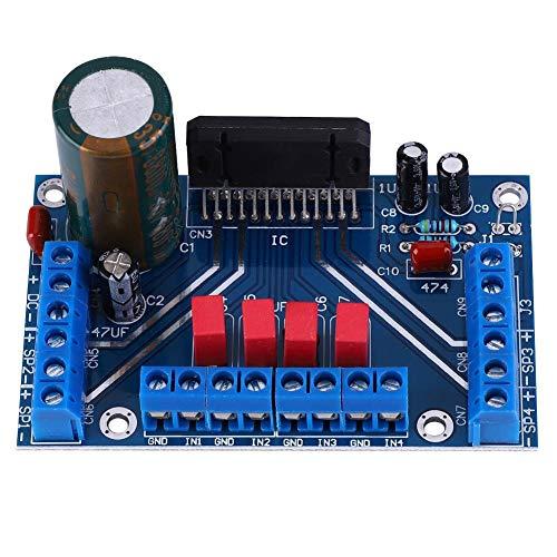 Audio versterker DC 12-14,5 V 41 Watt 4-kanaals audio versterkerplaat BTL uitgangsmodus auto versterkerplaat DIY module voor elektronische liefhebbers o muziekliefhebbers