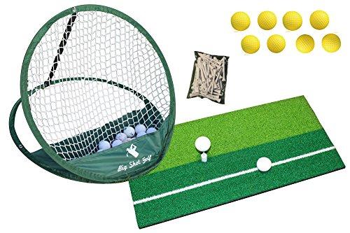 Alfombrilla para práctica de golf, red,...