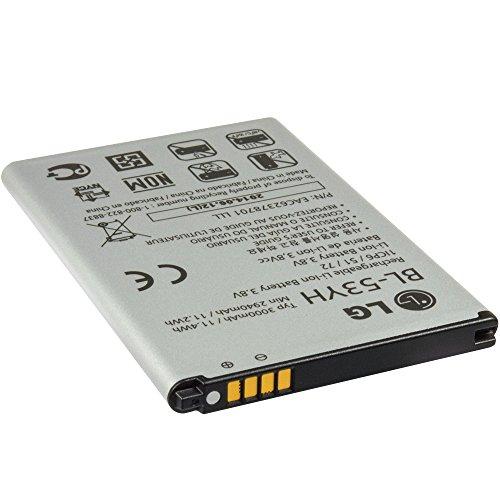 Original LG batería li-ion BL-53YH con 3000 mAh para LG G3 D855 - a granel (bolsa)