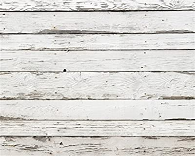 AOFOTO 10x8ft Weathered Wooden Fence Photography Background Vintage Shabby Wood Plank Backdrop Old Hardwood Panels Kid Adult Portrait Nostalgia Photo Studio Props Video Drape Wallpaper