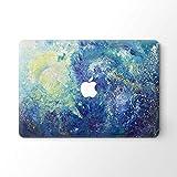 DowBier MacBook Decal Vinyl Skin Sticker Cover Anti-Scratch Decal for Apple MacBook (MacBook Pro 13'/Inch Retina(A1425,A1502), Night Sky)