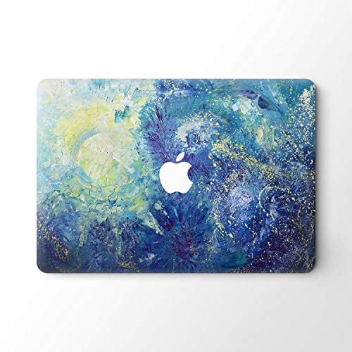 DowBier MacBook Decal Vinyl Skin Sticker Cover Anti-Scratch Decal For Apple Macbook (MacBook Air 13'/Inch 2018 Release(A1932), Night Sky)
