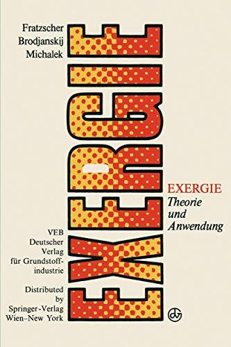 Exergie: Theorie und Anwendung
