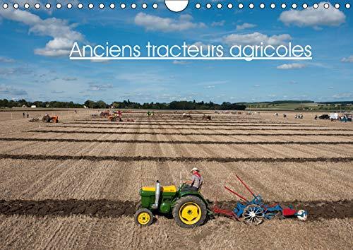Anciens tracteurs agricoles (calendrier mural 2019 din a4 horizontal) - photos de vieux tracteurs ag (Calvendo Technologie): Photos de vieux tracteurs agricoles (Calendrier mensuel, 14 Pages )