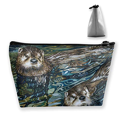 Otter Makeup Bag Women Cosmetic Bag Travel Handy Organizer Toiletry Pouch