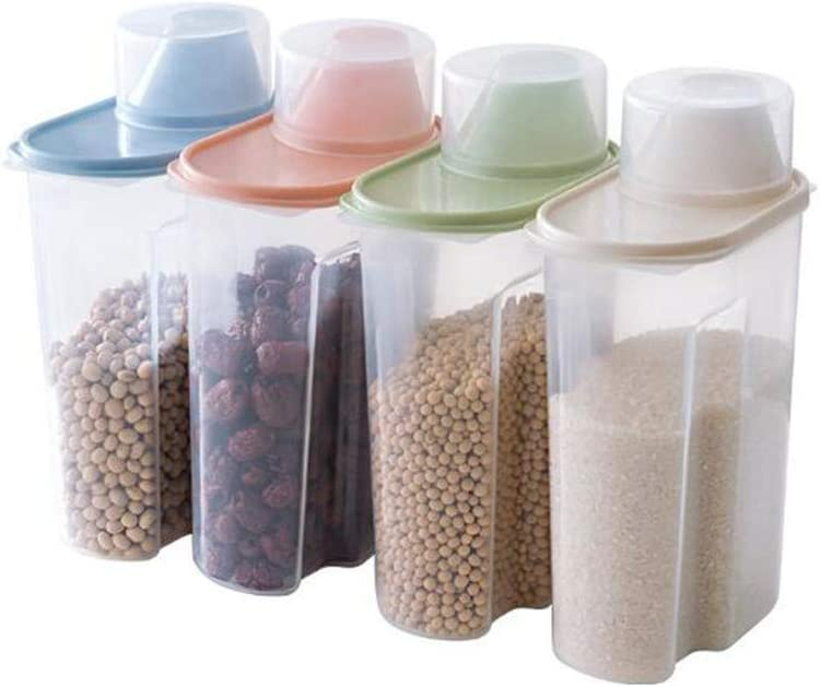 Kitchen Food Storage Box Cereal Portland Mall lowest price Co Snacks Preservation Dispenser
