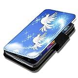 wicostar Book Style Flip Handy Tasche Hülle Schutz Hülle Schale Motiv Foto Etui für LG Bello 2 / Bello II - Flip X17 Design11