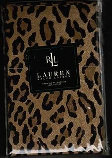 Ralph Lauren Aragon Leopard King Pillowcases