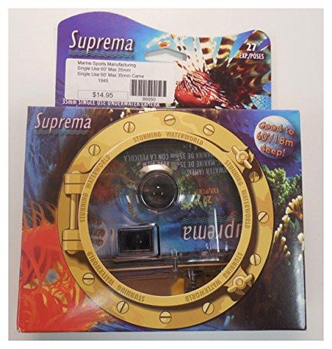 Suprema Disposable 35mm Underwater Camera Pool Snorkel Scuba
