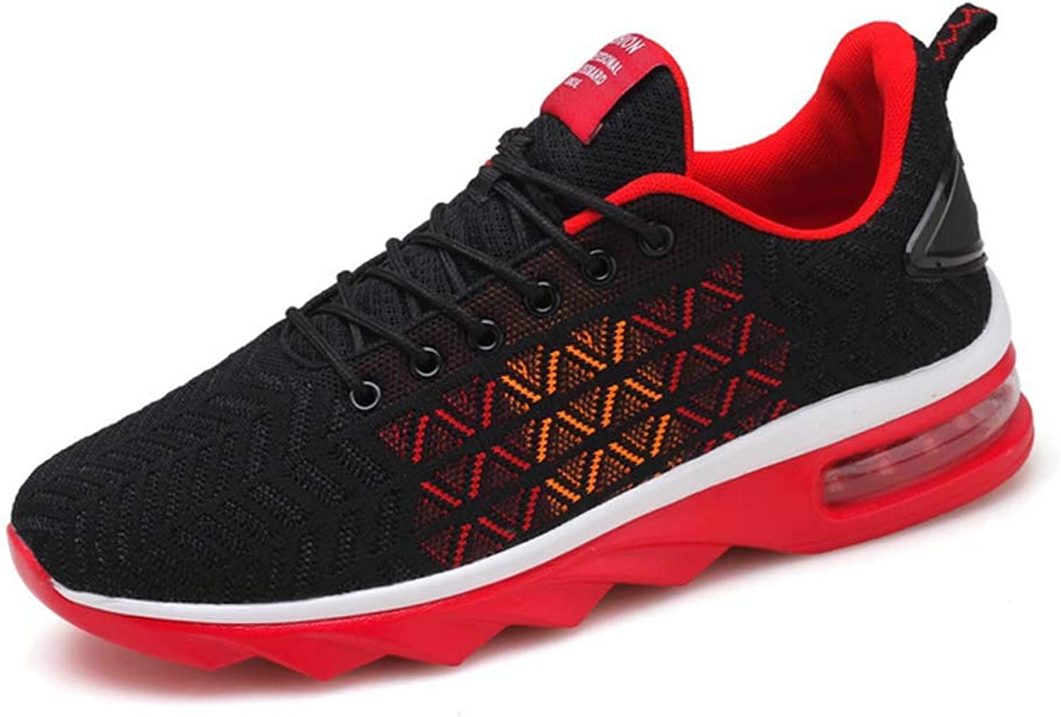 GLSHI Men Lightweight Sports shoes 2018 Autumn New Air Cushion Breathable Knitted Outdoor Casual shoes