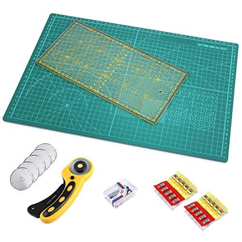 3-in-1-Rollschneider Stoffschneider Rollmesser hochwertiges Set