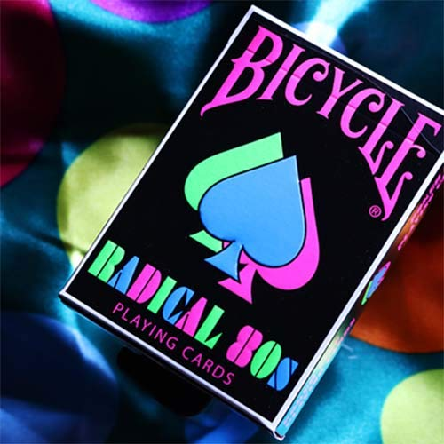 SOLOMAGIA Bicycle Radical 80's by US Playing Cards