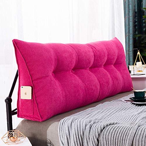 XIAOYAN Cuscini da Lettura Cuscino del Cuscino del Cuscino del Cuscino del Cuscino del Cuscino del Cuscino per Soggiorno e Camera da Letto, 100 cm Pink-180cm