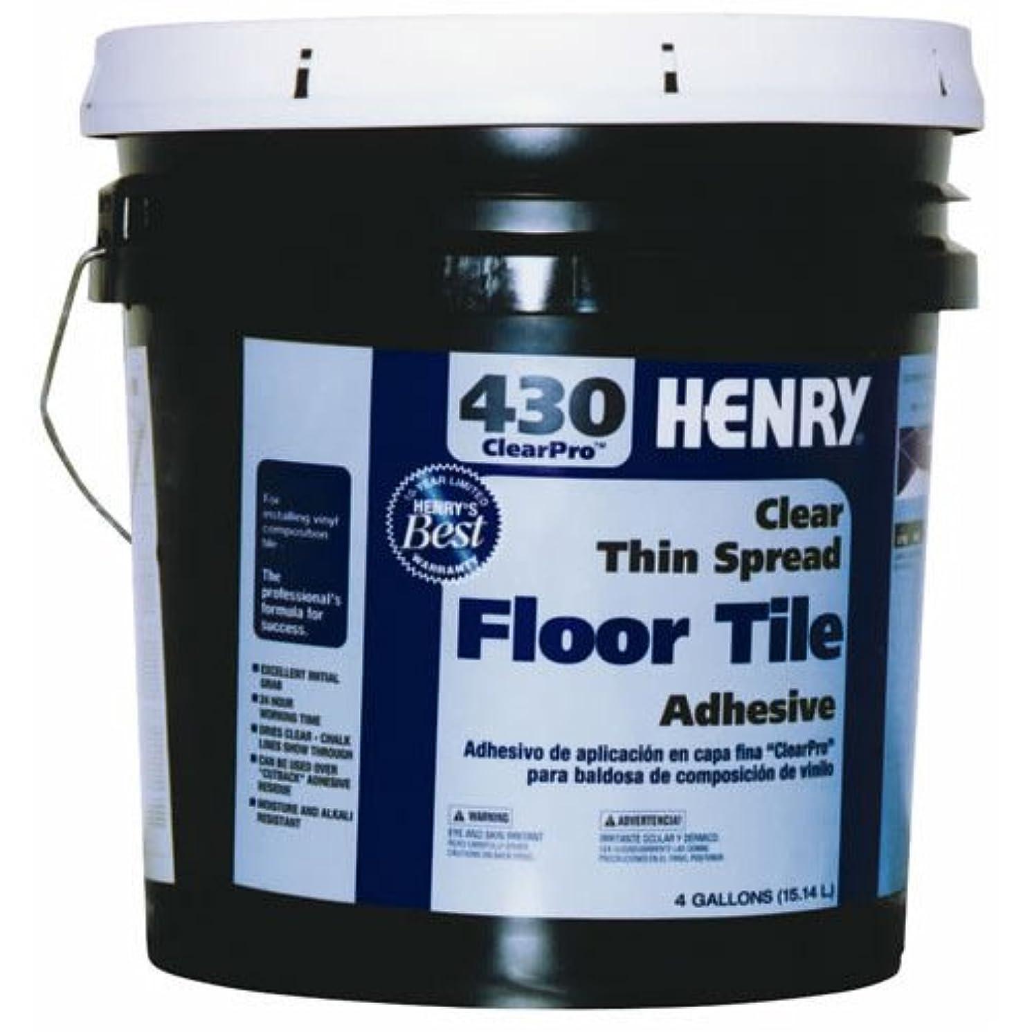 Henry, WW Company 12102 4GAL #430 Floor Adhesive, 4 Gallon