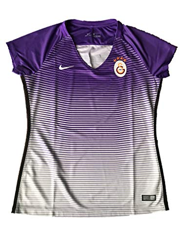 Nike Gs W Ss 3Rd Stadium JSY - kurzärmeliges Top Damen, Farbe Lila, Größe L