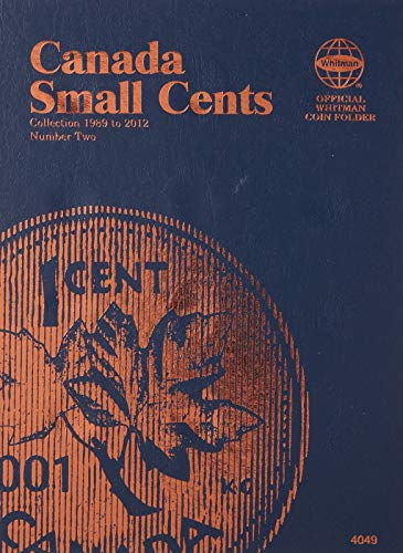 Canadian Small Cent Folder #2, 1898-2012
